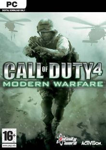Call of Duty 4 Modern Warfare PC cheap key to download