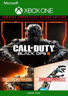 Call of Duty Black Ops III: Zombies Deluxe Xbox One (US) billig Schlüssel zum Download