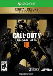 Call of Duty Black Ops 4 - Digital Deluxe Xbox One (US) cheap key to download
