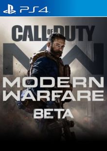 Call of Duty Modern Warfare Beta PS4 cheap key to download