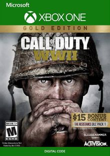 Call of Duty WWII - Gold Edition Xbox One (US) cheap key to download