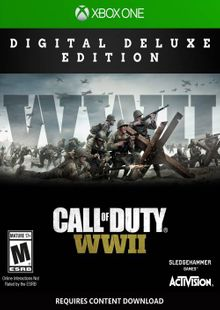 Call of Duty: WWII - Digital Deluxe Xbox One (UK) cheap key to download