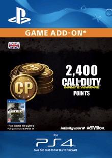 Call of Duty Infinite Warfare - 2400 Punkte PS4 billig Schlüssel zum Download