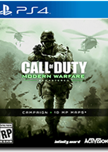 Call of Duty (COD) Modern Warfare Remastered PS4 - Digital Code clé pas cher à télécharger