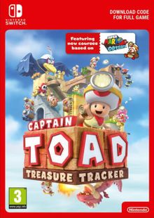 Captain Toad: Treasure Tracker Switch clé pas cher à télécharger