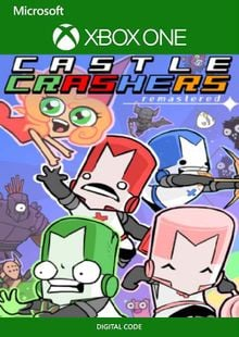 Castle Crashers Remastered Xbox One (UK) billig Schlüssel zum Download