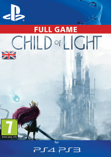 Child of Light PS3/PS4 - Digital Code cheap key to download