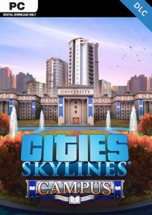 Cities: Skylines PC - Campus DLC cheap key to download