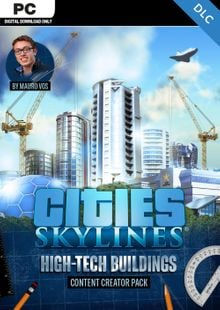 Cities Skylines - Content Creator Pack High-Tech Buildings DLC clave barata para descarga