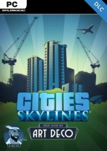 Cities Skylines - Content Creator Pack Art Deco DLC clave barata para descarga