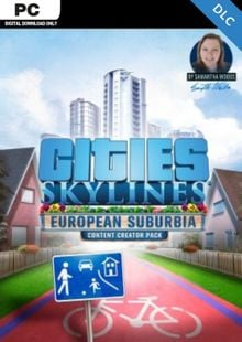 Cities Skylines - Content Creator Pack European Suburbia DLC billig Schlüssel zum Download