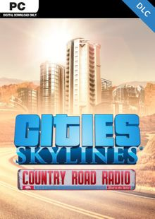 Cities Skylines - Country Road Radio DLC clave barata para descarga