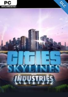 Cities Skylines PC - Industries DLC clave barata para descarga