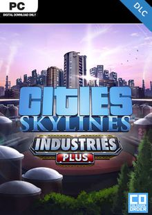 Cities Skylines PC - Industries Plus DLC clave barata para descarga