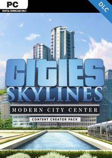 Cities: Skylines - Content Creator Pack Modern City Center PC billig Schlüssel zum Download