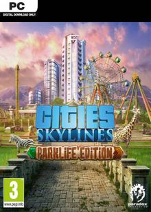 Cities: Skylines - Parklife Edition PC cheap key to download