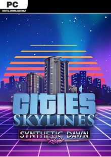 Cities Skylines PC - Synthetic Dawn Radio DLC clave barata para descarga