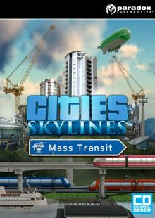 Cities: Skylines PC - Mass Transit DLC billig Schlüssel zum Download