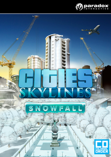 Cities: Skylines Snowfall PC billig Schlüssel zum Download