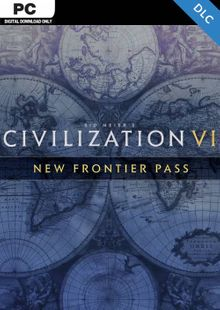 Sid Meier's: Civilization VI - New Frontier Pass PC - DLC (EMEA) cheap key to download
