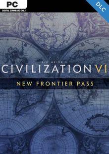 Sid Meier's: Civilization VI - New Frontier Pass PC - DLC (WW) cheap key to download