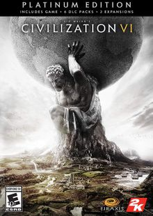 Sid Meiers Civilization VI 6: Platinum Edition PC (WW) cheap key to download