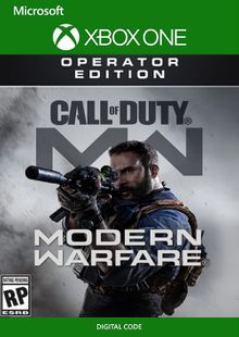 Call of Duty Modern Warfare Operator Edition Xbox One cheap key to download