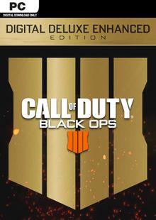 Call of Duty (COD) Black Ops 4 Deluxe Enhanced Edition PC (EU) billig Schlüssel zum Download