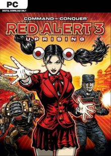 Command & Conquer Red Alert 3: Uprising PC cheap key to download