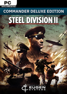 Steel Division 2 - Commander Deluxe Edition PC cheap key to download