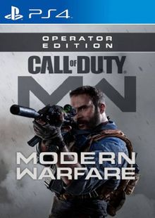 Call of Duty Modern Warfare: Operator Edition PS4 (EU) cheap key to download