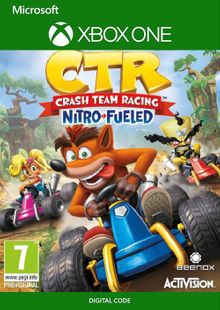Crash Team Racing Nitro-Fueled Xbox one (UK) cheap key to download