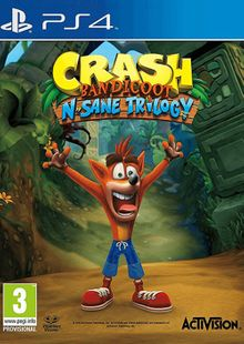 Crash Bandicoot N. Sane Trilogy PS4 billig Schlüssel zum Download