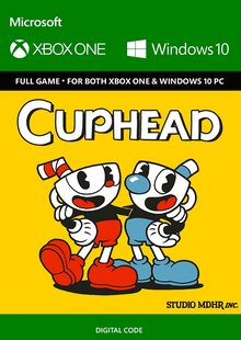 Cuphead Xbox One/PC billig Schlüssel zum Download
