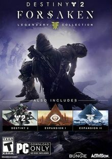 Destiny 2 Forsaken - Legendary Collection PC (APAC) cheap key to download