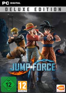 Jump Force Deluxe Edition PC clé pas cher à télécharger