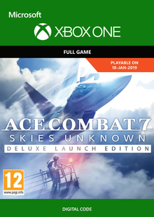 Ace Combat 7 Skies Unknown Deluxe Launch Edition Xbox One cheap key to download