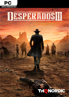 Desperados 3 PC cheap key to download