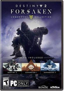 Destiny 2 Forsaken - Legendary Collection PC (APAC) cheap key to download