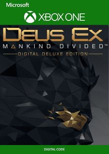 Deus Ex Mankind Divided - Deluxe Edition Xbox One (UK) cheap key to download