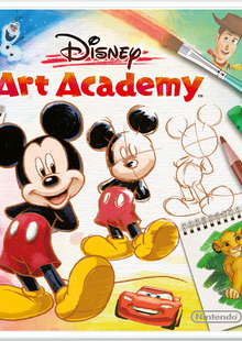 Disney Art Academy 3DS - Game Code cheap key to download