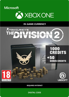 Tom Clancy's The Division 2 1050 Credits Xbox One cheap key to download