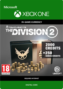 Tom Clancy's The Division 2 2250 Credits Xbox One billig Schlüssel zum Download