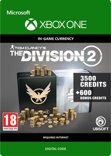 Tom Clancy's The Division 2 4100 Credits Xbox One cheap key to download
