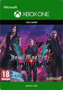 Devil May Cry 5 Deluxe Edition Xbox One cheap key to download