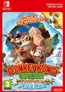 Donkey Kong Country Tropical Freeze Switch clé pas cher à télécharger