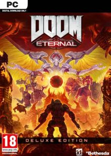 DOOM Eternal Deluxe Edition PC (EMEA) + DLC cheap key to download