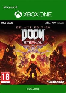 DOOM Eternal - Deluxe Edition Xbox One cheap key to download