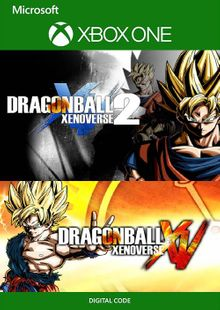 Dragon Ball Xenoverse 1 and 2 Bundle Xbox One (UK) cheap key to download