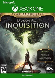 Dragon Age Inquisition: Game of the Year Edition Xbox One (UK) cheap key to download